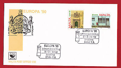 Malta 1990 - Europa First Day Cover.
