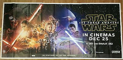 Star Wars The Force Awakens - large 4.5ft x 9 ft six sheet poster