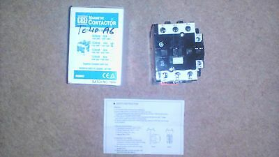 magnetic contactor 44A 6pole 240v CED - TC40A6 (new in box)