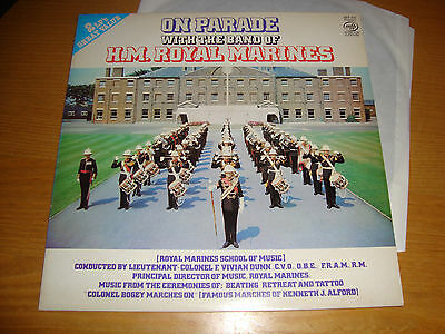 On Parade With -The Band Of H.m.royal Marines- 2Lp 1961 Mfp Stereo / Top Audio
