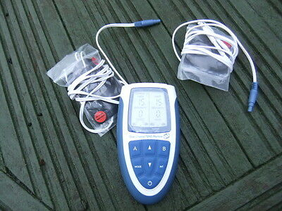Lloyds Pharmacy Dual Channel Tens Machine Pain Relief Therapy Massarger