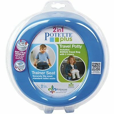 NEW Kalencom 2-in-1 Potette Plus, Blue - FREE SHIPPING