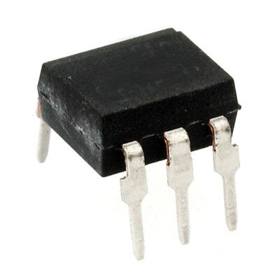 Major Brands MOC3041M. OPTOISOLATOR TRIAC DRIVER DIP-6 10 pcs