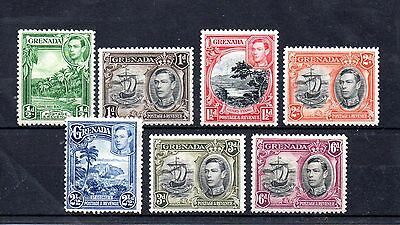 set of 7 mint GVI stamps from grenada