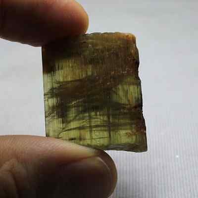 108.73 Ct.Best Color Natural Color Change Green Turkish Rough Diaspore Very Good
