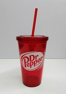 Dr Pepper 16oz Travel Tumbler Cup - BRAND NEW