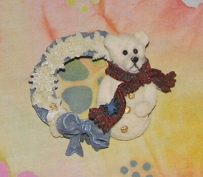 Boyds SNOWBEARY AND THE SNOWFLAKES PIN & Polar Bear