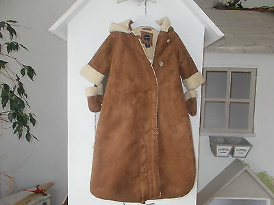 """""""baby Gap"""" Faux Suede Baby Nest Age 3-6Mnths Bnwt"""