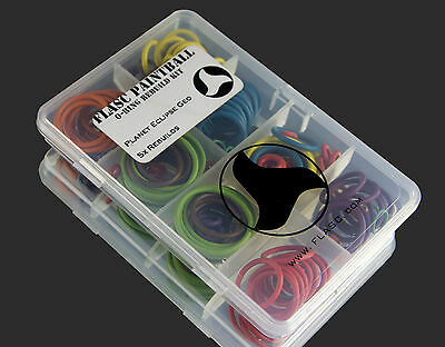 Planet Eclipse GEO 5x color coded o-ring kit by Flasc Paintball