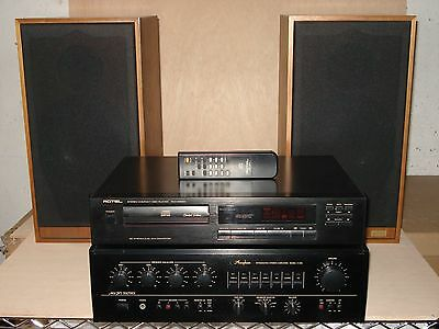 Accuphase E-206; Rotel Rdc-965Bx; Spendor Sp2/2
