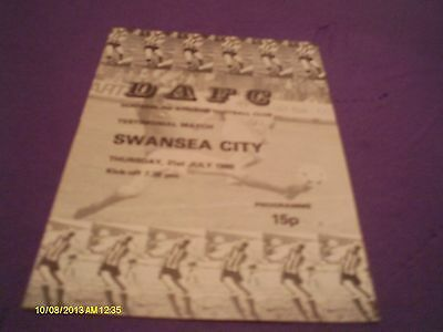 Dunfermline V Swansea City Ian Hall Testimonial Match 1980