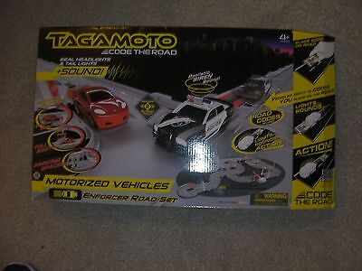 Tagamoto Enforcer Road Set with 2 extra cars