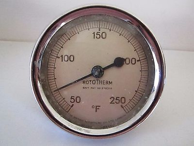 Vintage farenheight thermometer by Rototherm