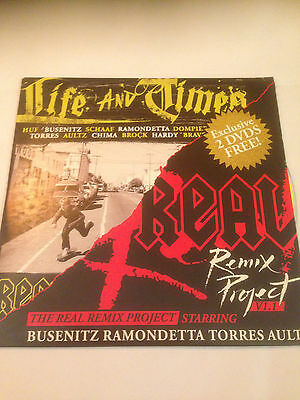 real skateboards life and times & remix project skateboard dvd