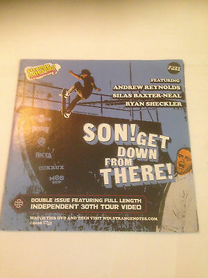 strange notes 2008 son get down from there + independent 30th skateboard dvd