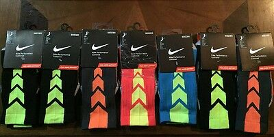 Lot Of 11 New Nike Performance Cushioned Soccer Socks Size 4-6, 6-8 $154 Value
