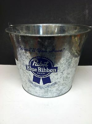 Pabst Blue Ribbon Beer Metal Ice/drink Bucket