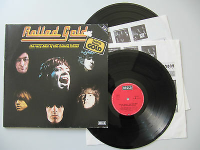 THE ROLLING STONES - Rolled Gold (Best Of) 2 Vinyl LP s.g. Zustand OIS excellent
