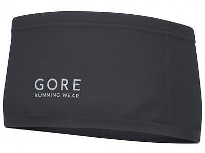 GORE Running Windstopper Headband  Essential Fb. Black one sice