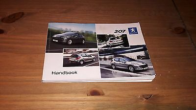 Peugeot 207 Owners Guide - Owners Manual - Owners Handbook