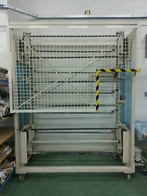 Paternoster carousel - ideal for Textile Industry