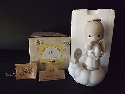 "Precious Moments ""sending My Love"" -#100056- New In Box"