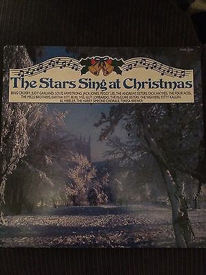 The Stars Sing At Christmas VINYL LP EXCELLENT CONDITION