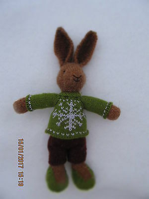 Rabbit Knit Handmade Toys Souvenir Dolls
