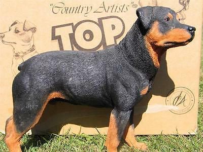 COUNTRY ARTISTS TOP DOGS ROTTWEILER boxed