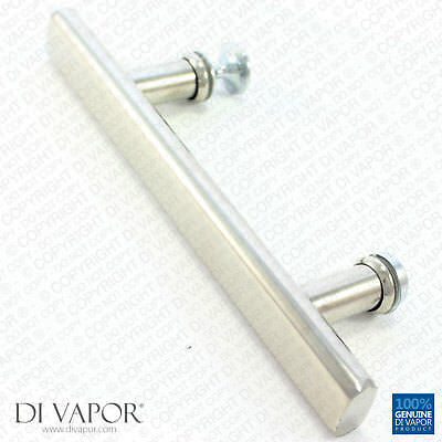 Di Vapor (R) 125mm Shower Door Handle | 12.5cm (5 Inches) Hole to Hole |  12.5cm