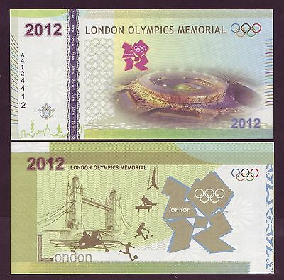 Billet Jeux Olympiques Londres B - Olympics Games London 2012 - TEST NOTE - NEUF