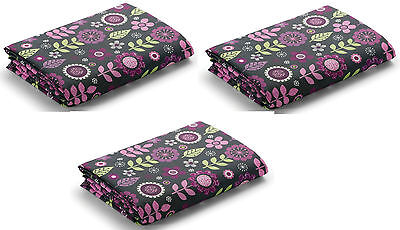 Graco Pack 'n Play Playard Sheets 3 Pack - Alexis - New! Free Shipping!