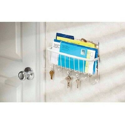 InterDesign Axis Mail, Letter Holder, Key Rack Organizer