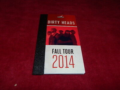 AUTOGRAPHED V.I.P. Music Passes-the DIRTY HEADS 2014 Fall Tour