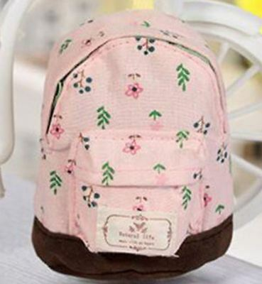 "Backpack for 18"" American Girl Our Generation Doll School Supplies Bag Pink NEW"