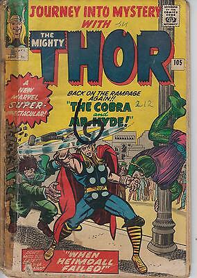 Thor Journey Into Mystery 105 - 1964 - Kirby - Very Good