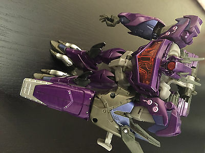 Transformers Prime Go G13 Shockwave complete with extras