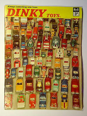 DINKY TOYS CATALOGUE No.6 / 1970 FIRST PRINTING (C)