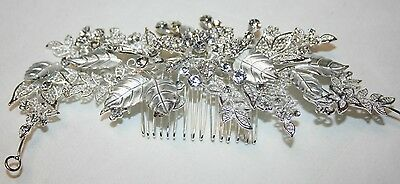 Bridal Crystals, Rhinestones Hair Comb, Wedding Hairpin, Unique Hair Accessory
