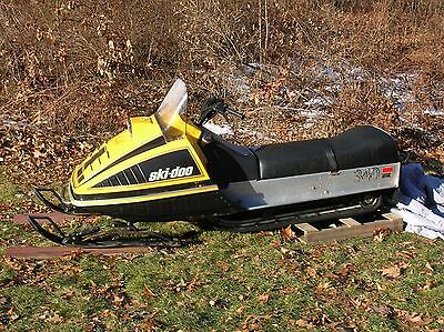 vintage 1977 ski doo everest 340