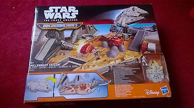 Star wars the force awakens millennium falcon playset