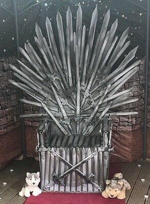 Game of Thrones Chair, The Iron Chair. Replica, Hand Made