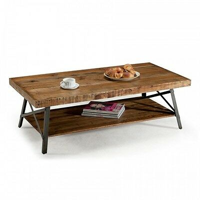 Rustic Farmhouse Coffee Table Top Large Reclaimed Wood Industrial Furniture