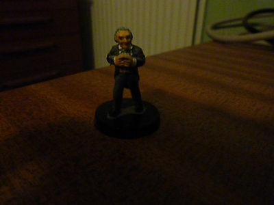 Dr Who. Pewter 1st Doctor Figure, small. ideal for RPGs  RARE. Painted.