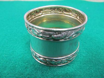 """Antique Sterling Silver Napkin Ring Marked """"Sterling 413"""" No MONO"""