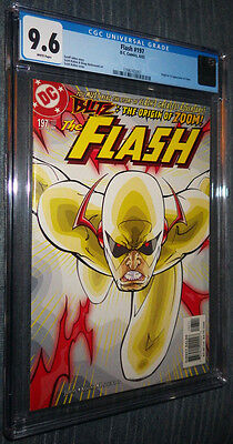 Flash #197 CGC 9.6 White Pages - First appearance and origin of.... Zoom!!