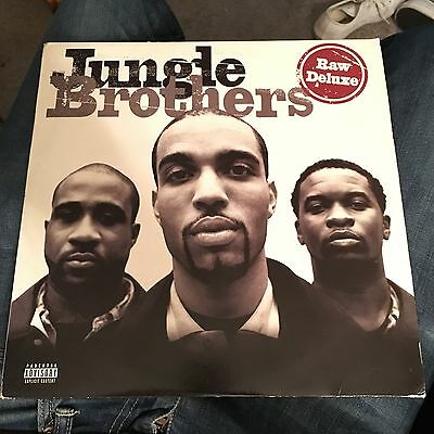 JUNGLE BROTHERS - Raw Deluxe - Double Vinyl - 1997 - Classic - FREE POSTAGE