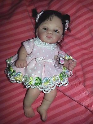 OOAK Baby Doll by Tender Creations hand sculpted MARIA ALEJANDRA GONZALEZ 2015