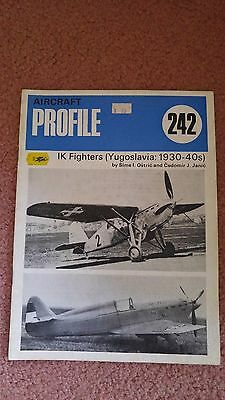 Aircraft Profile #242 IK Fighters (Yugoslavia 1930-40s)