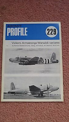 Aircraft Profile #229 Vickers-Armstrongs Warwick Variants